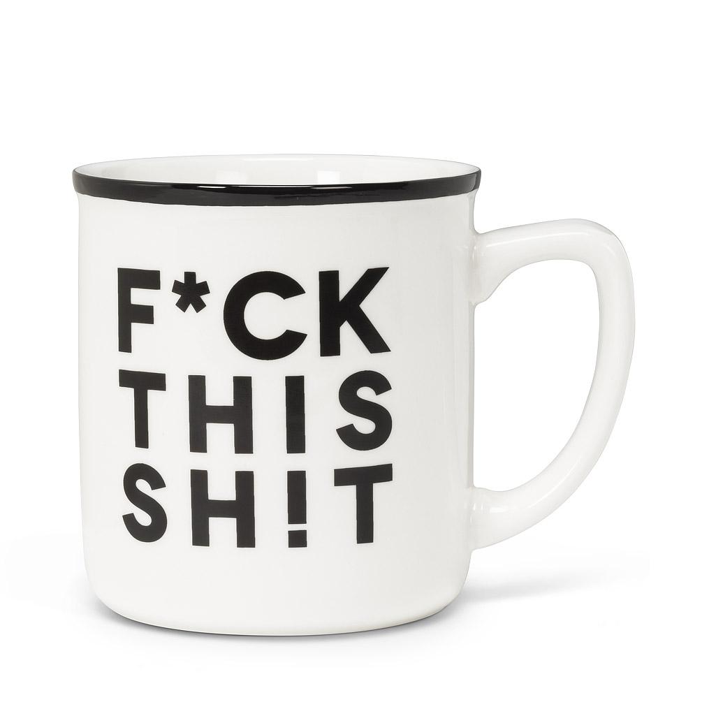 F*CK This Sh!t Text Mug