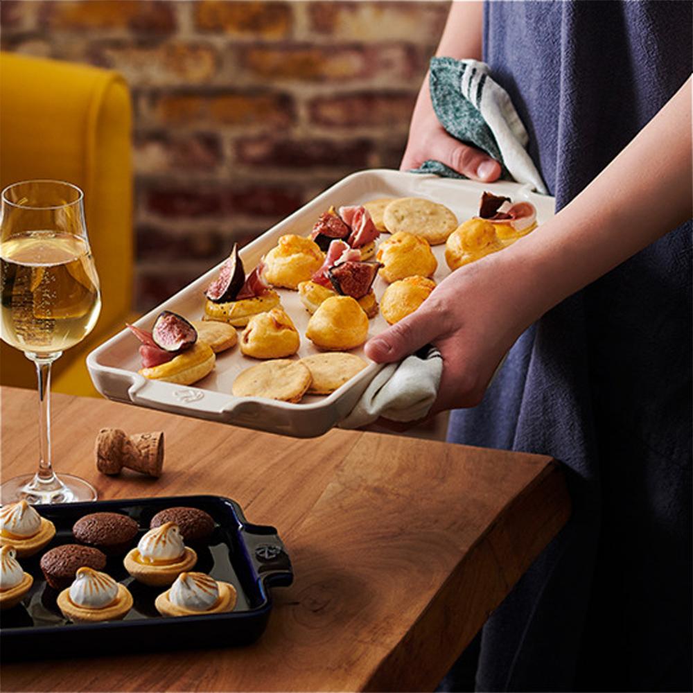 Peugeot Appetizer Ecru Platter Serving